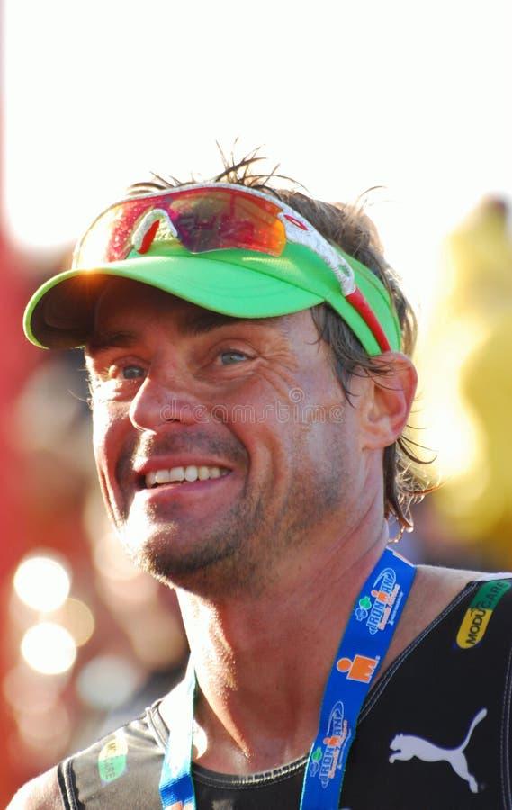 Raynard Tissink pro triathlete royalty free stock photos