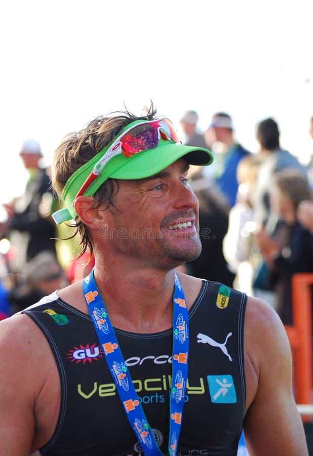 Raynard Tissink pro triathlete stock images