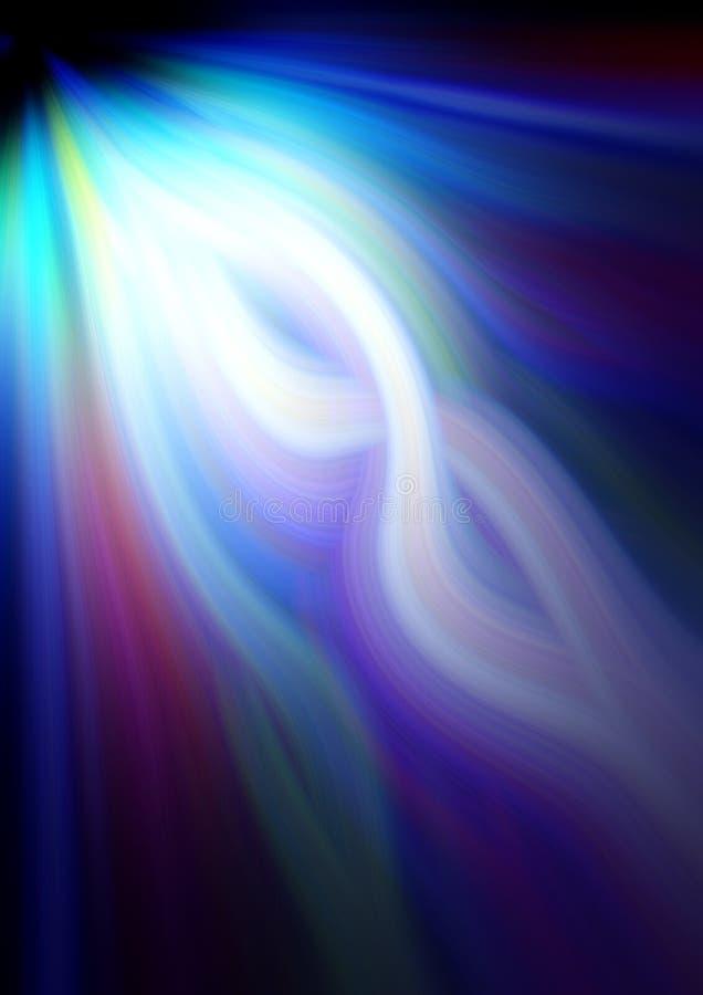 Rayo de colores ilustración del vector