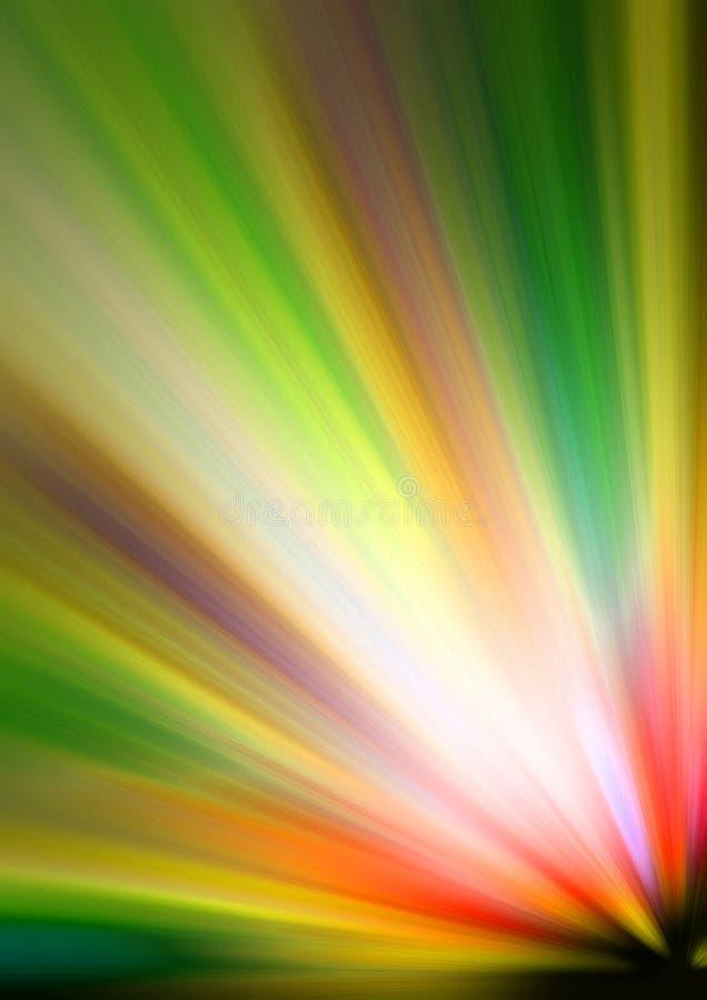 Rayo de la luz ilustración del vector