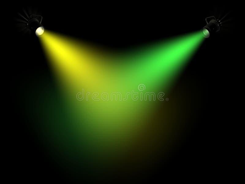 Ray de la luz foto de archivo