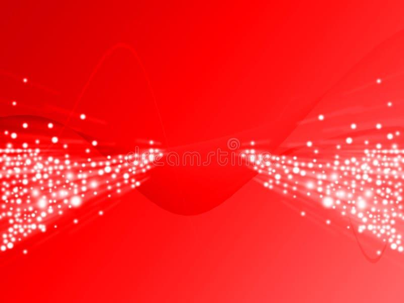 Rayo de la luz rojo libre illustration