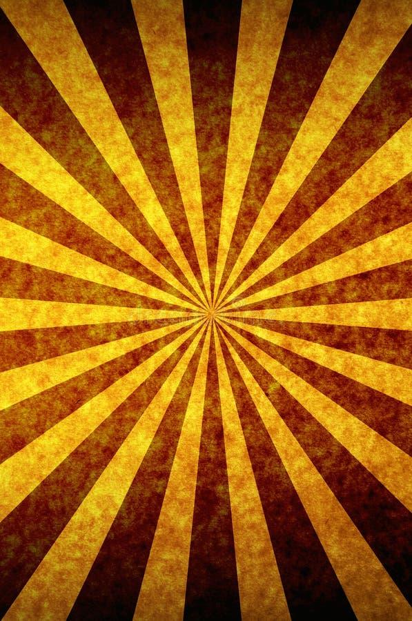 Rayo de sol ilustración del vector
