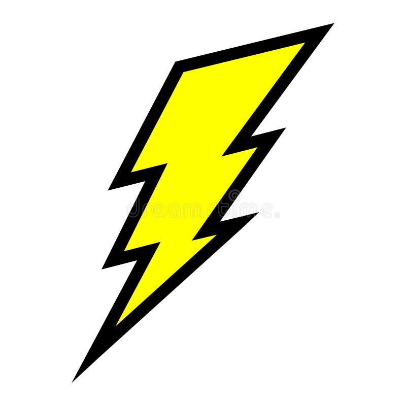 rayo el u00e9ctrico ilustraci u00f3n del vector ilustraci u00f3n de lightning bolt vector free lightning bolt vector icon
