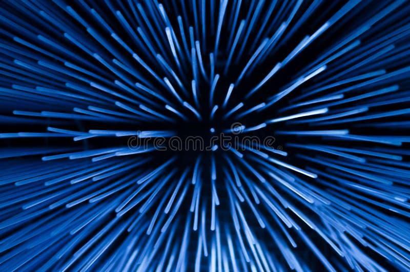 Rayon cosmique illimité photographie stock libre de droits