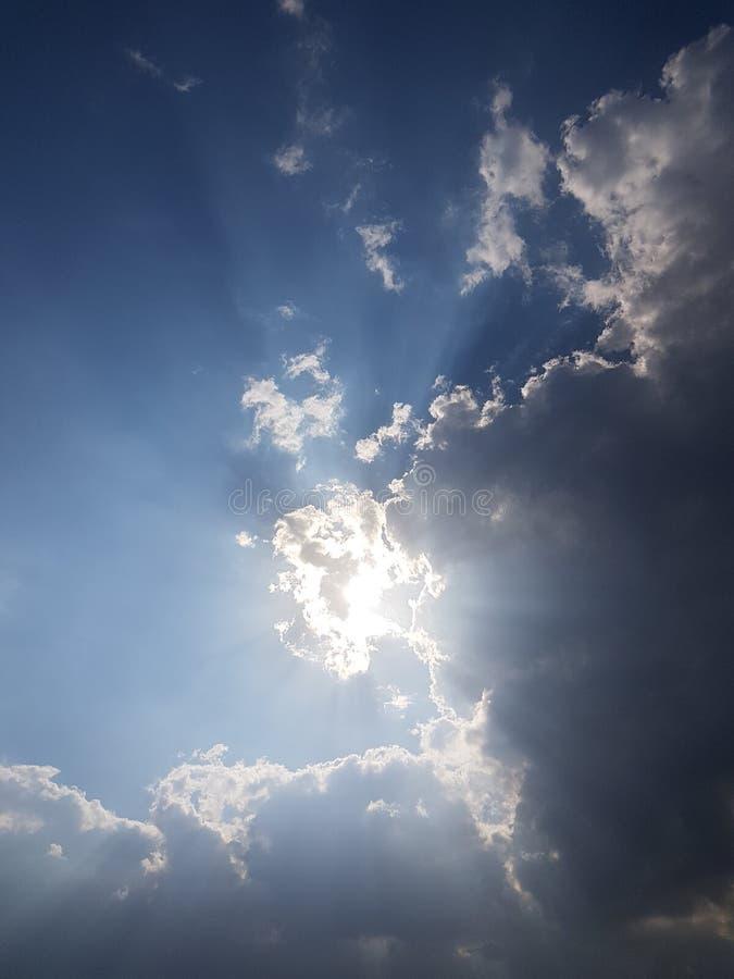 Rayon de soleil image stock