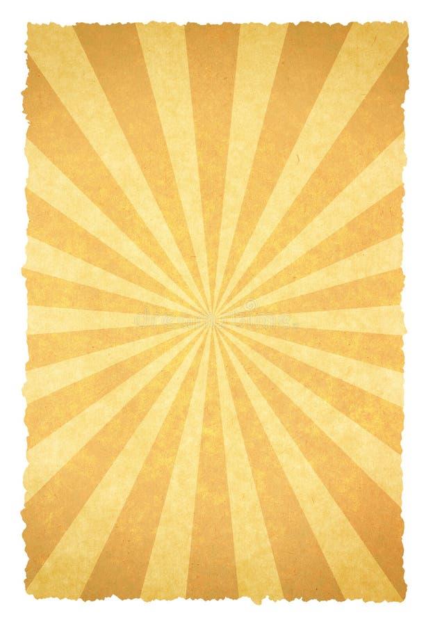 Rayon de soleil illustration de vecteur