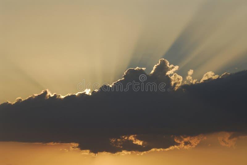Rayon de soleil photographie stock