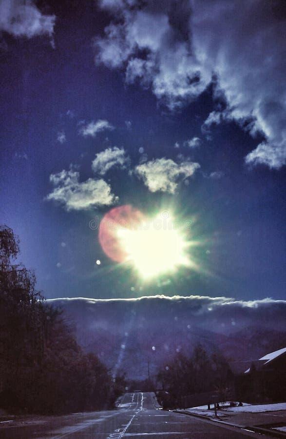 Rayon de soleil de matin photographie stock libre de droits