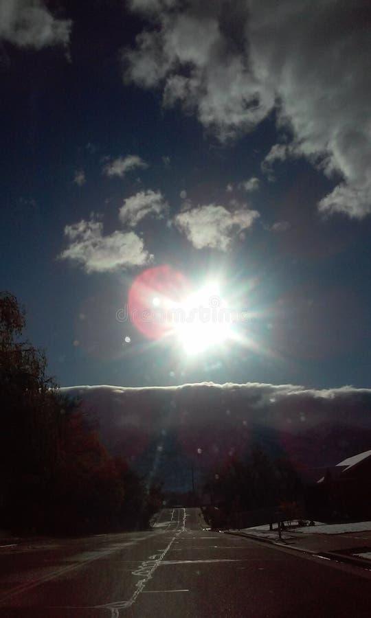 Rayon de soleil de matin image stock