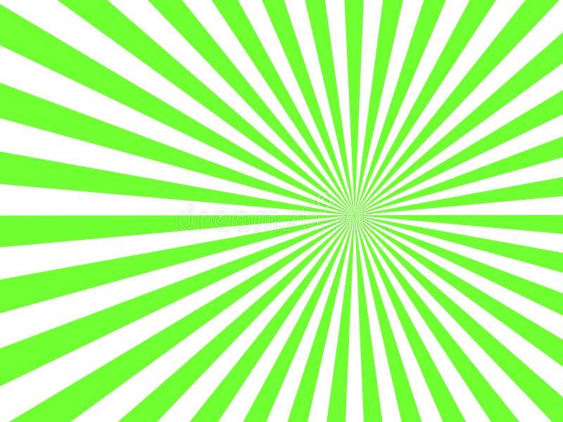 Rayon de soleil, fond de starburst, lignes convergentes Illustration de vecteur illustration libre de droits