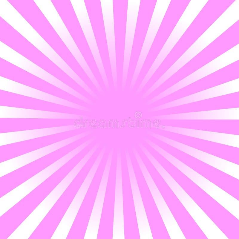Rayon de soleil, fond de starburst, lignes convergentes Illustration de vecteur illustration stock