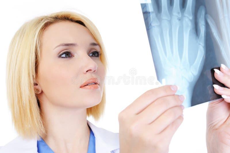 rayon médical de docteur X images libres de droits