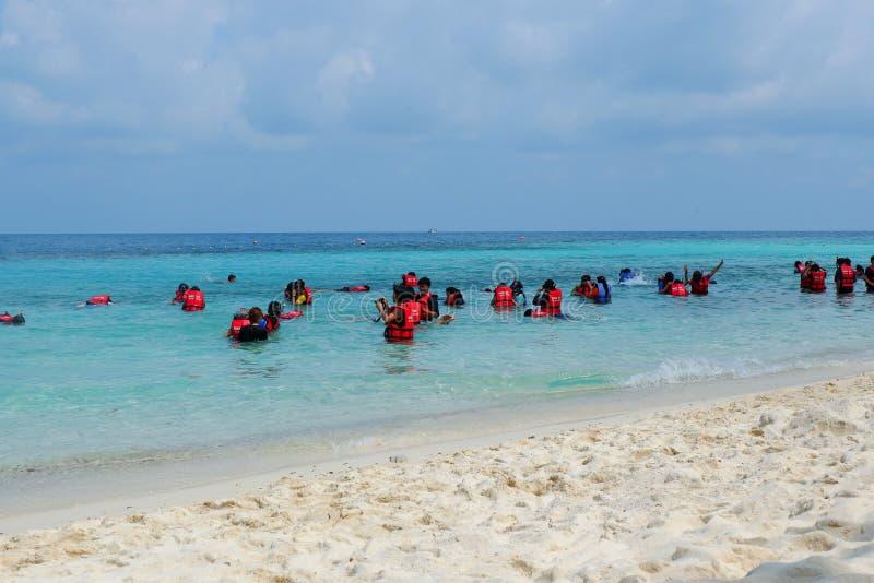 Rayong sea thailand stock photos