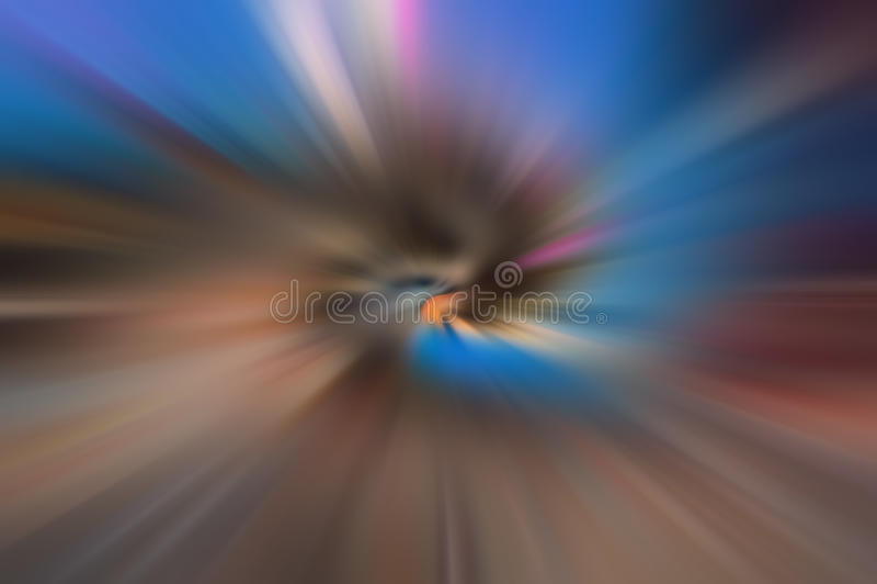 Rayons colorés par radial images libres de droits