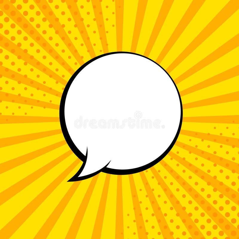 Rayons comiques avec des bulles de la parole Bulle comique de super h?ros Mise en page de bandes dessin?es Rayons, radial, image  illustration de vecteur