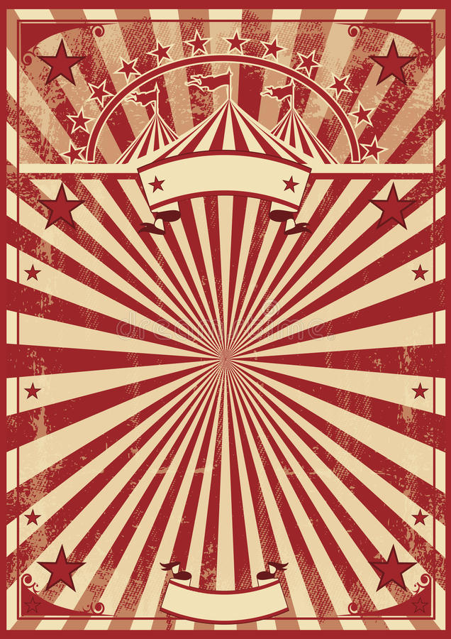 Rayons de soleil de rouge de vintage