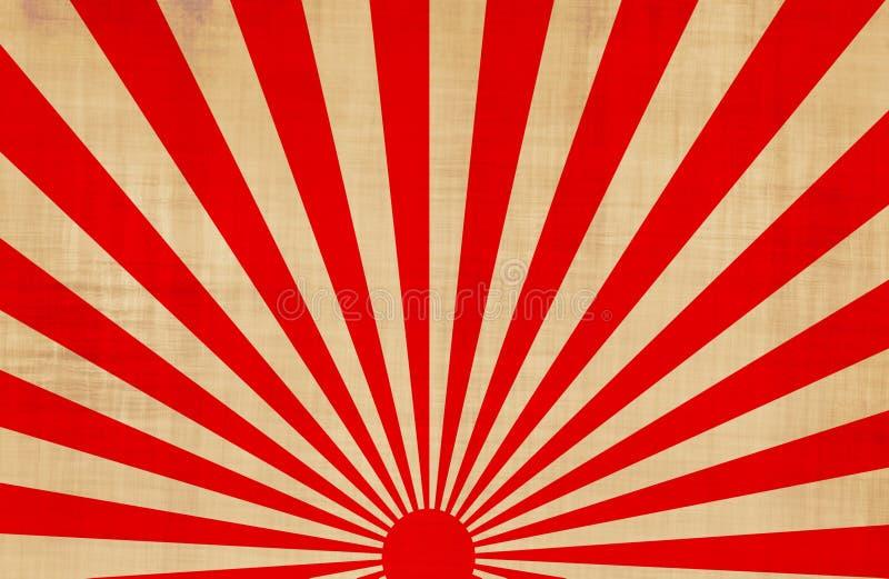 rayons de soleil japonais de soleil levant illustration stock illustration du rising orient. Black Bedroom Furniture Sets. Home Design Ideas