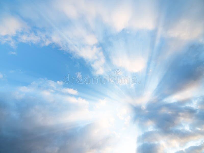 Rayons de Sun image libre de droits