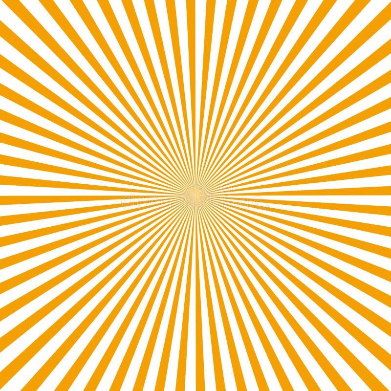 Rayos abstractos ilustración del vector