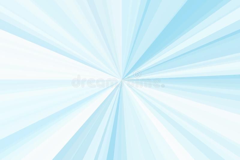 Rayos azules del color del fondo del extracto de la luz Modelo del haz de las rayas Colores modernos de la tendencia del ejemplo  stock de ilustración