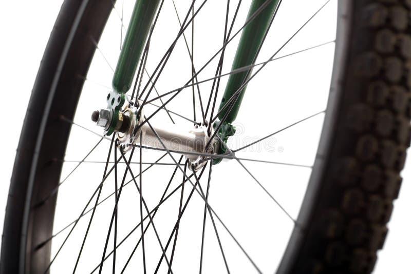 Rayos de la bicicleta imagen de archivo libre de regalías