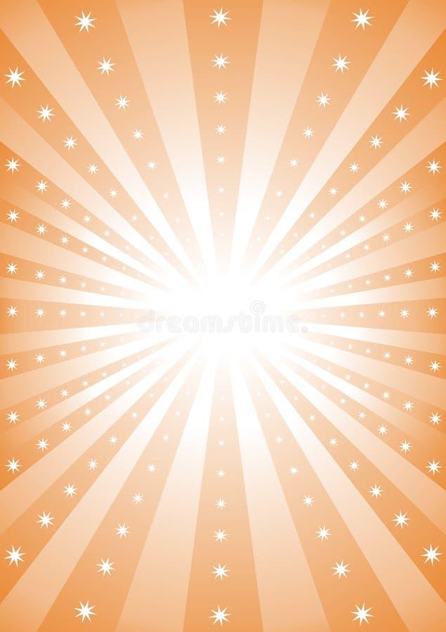 Rayos de la luz libre illustration