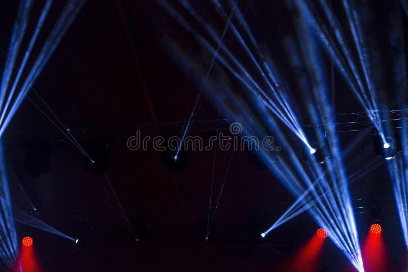 Rayos de la luz foto de archivo