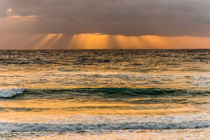 Rayos de la mañana foto de archivo