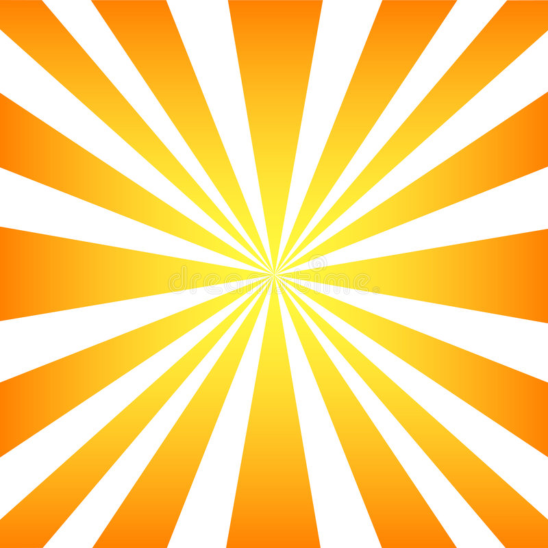 Rayos de Sun stock de ilustración