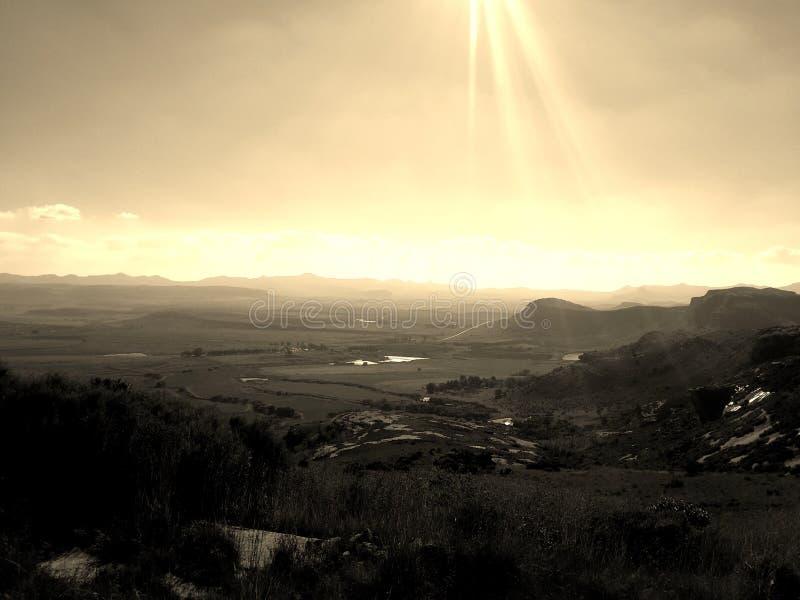 Rayos de Sun foto de archivo libre de regalías