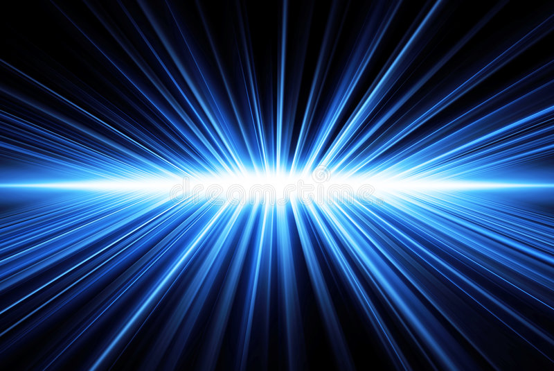 Rayos ligeros ilustración del vector