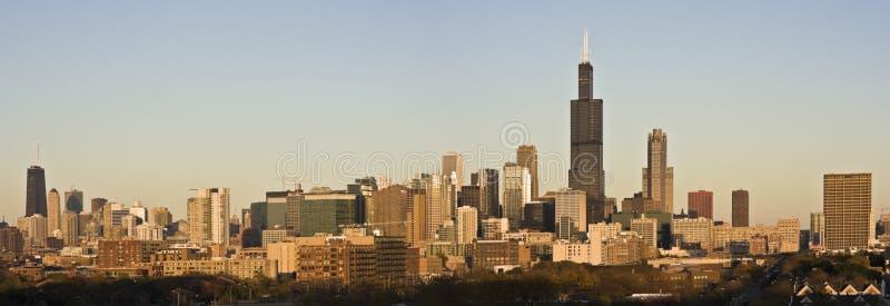 Download Rayos Pasados Del Sol En Chicago Foto de archivo - Imagen de vida, mart: 7275806