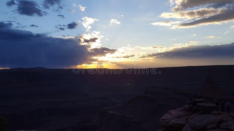 Rayos solares foto de archivo libre de regalías