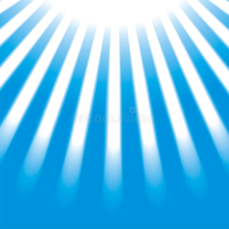 Rays. Design background with a vector light rays stock illustration