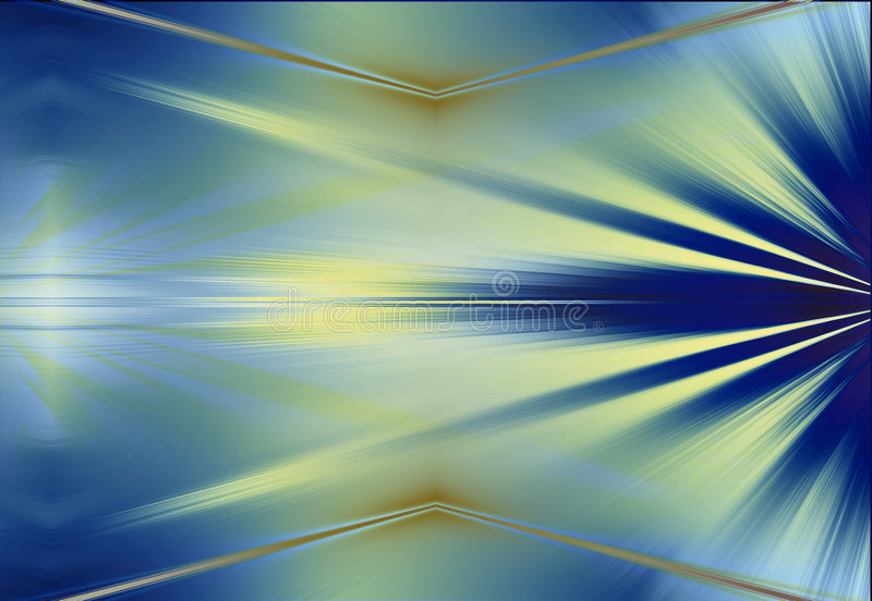 Rays Abstract Background stock illustration