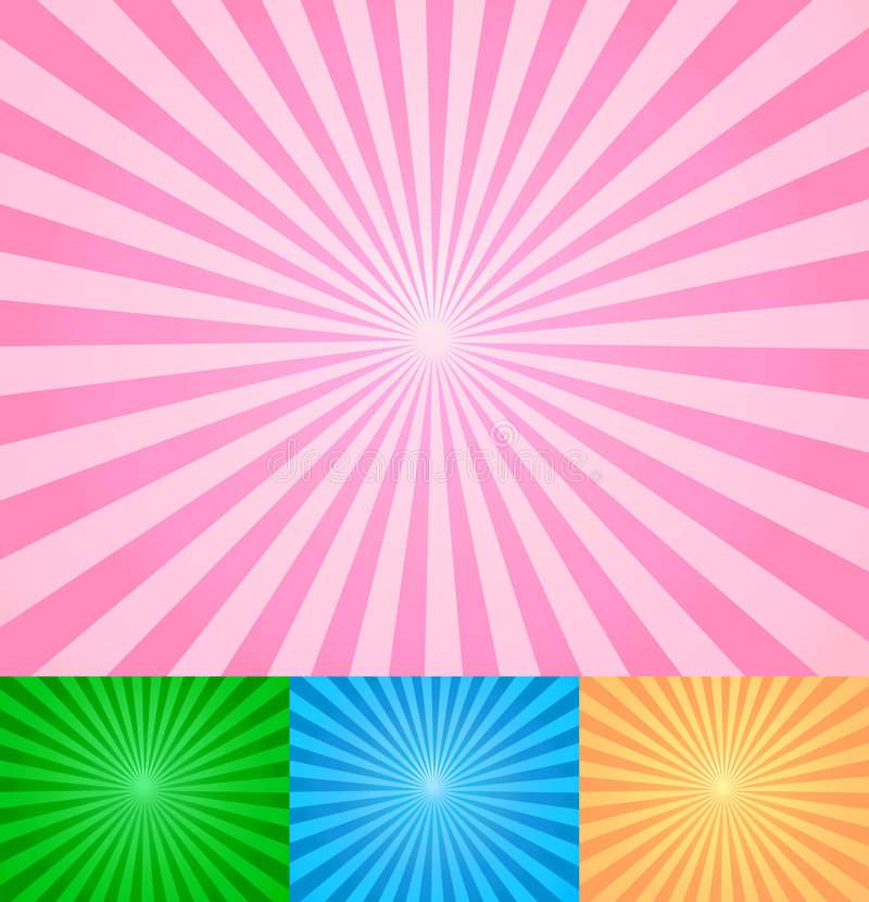 Free Rays Abstract Vector Royalty Free Stock Photo - 5581575
