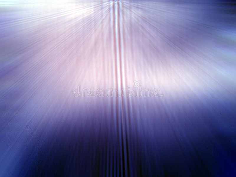Rays of Coloured Light vector illustration