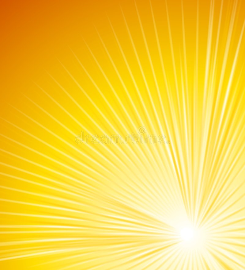 Rays of Light Glowing Lines 2 stock illustration
