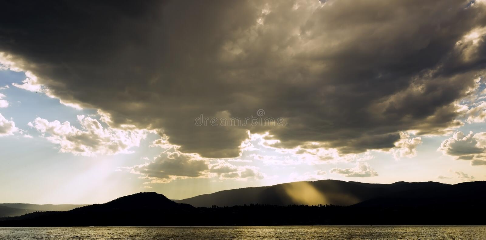 Rays of light stock images