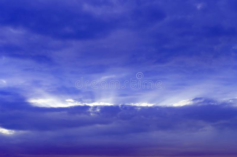 Rays of light shining down. Rays of light shining down in the morning stock photos
