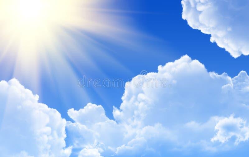 rays soligt royaltyfri fotografi