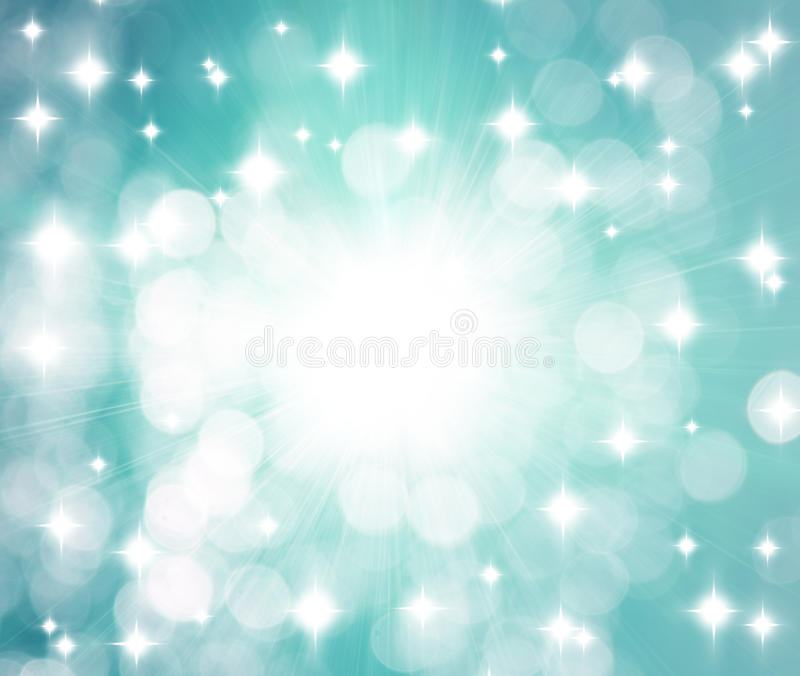 Rays and Stars Background vector illustration