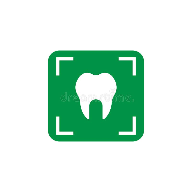 Rays and stomatology icon. Element of Dental Care icon for mobile concept and web apps. Detailed Rays and stomatology icon can be. Used for web and mobile on stock illustration