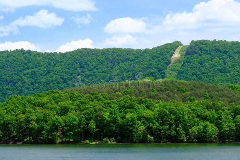 Raystown jezioro w Pennsylwania zdjęcia royalty free