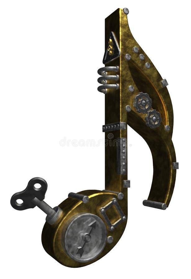 Rayure en métal illustration de vecteur