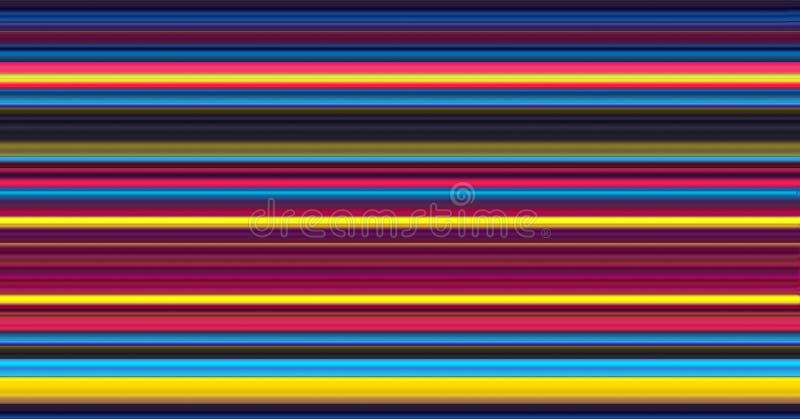 Rayures abstraites de couleur illustration libre de droits