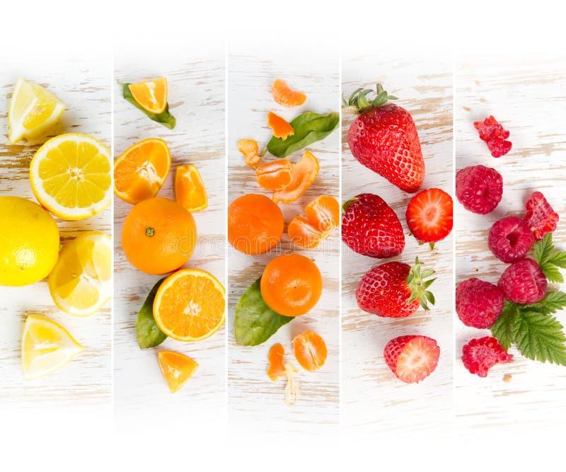 Rayures de préparation de fruit images stock