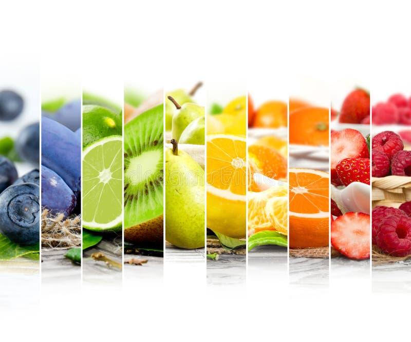 Rayures de préparation de fruit photo stock