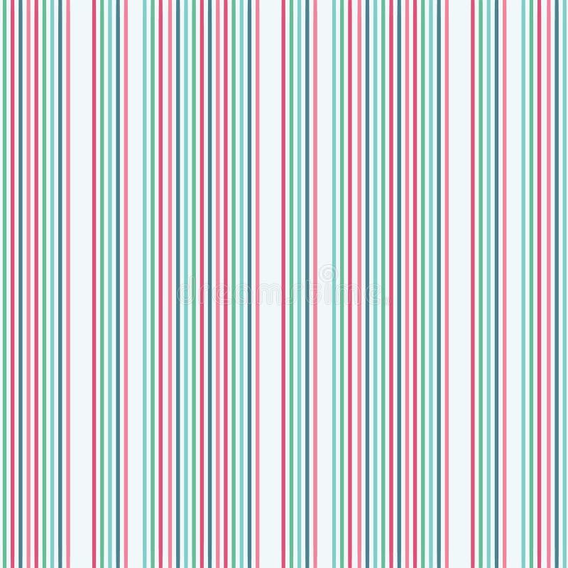 Rayures verticales colorées de résumé sur un fond pâle Un idéal sans couture de modèle de répétition pour le tissu, scrap illustration de vecteur